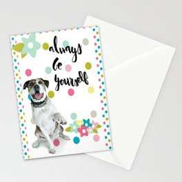 Always Be Yourself Stationery Cards