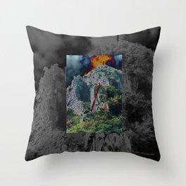 Taedunsan Afire Throw Pillow