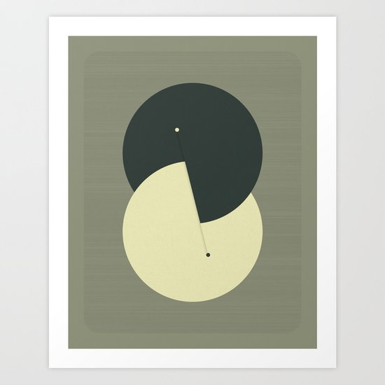 Tick Tock (15) Art Print