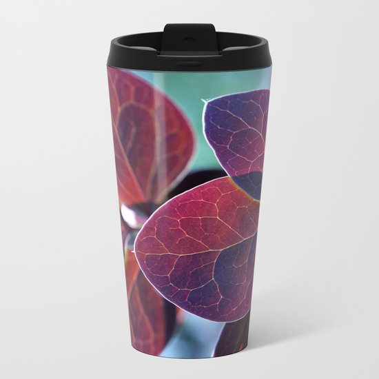 Autumn Leaves Metal Travel Mug