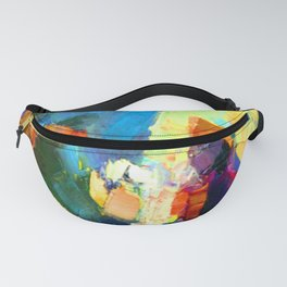 Christopher Willard Fruit on a Table Fanny Pack