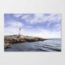 Peggy's Cove, Nova Scotia, Canada Canvas Print