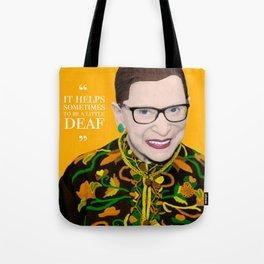 Deaf RBG Tote Bag