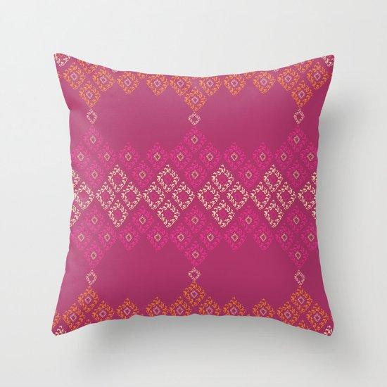 Moroccan Geo Throw Pillow