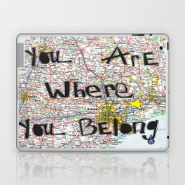 Where You Belong-Houston Laptop & iPad Skin
