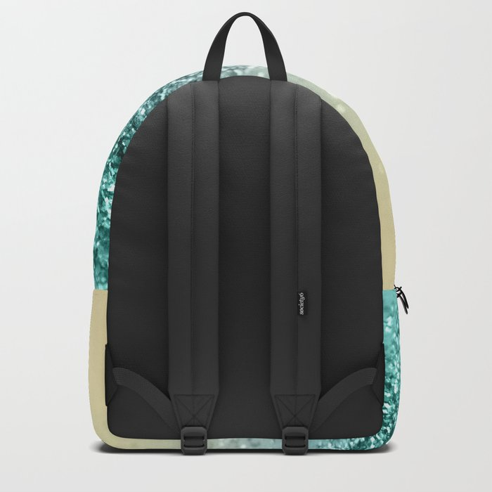 Lemon Twist Beach Glitter #2 #shiny #decor #art #society6 Backpack