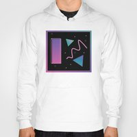 disco Hoodies featuring disco by Hannah Siegfried
