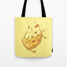 Pizza fall Tote Bag