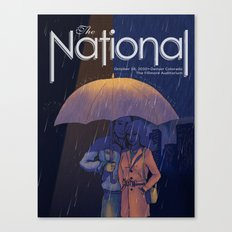 The National band poster Canvas Print
