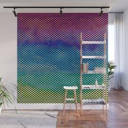 Rainbow Mermaid Tail Wall Mural