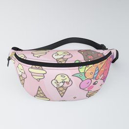 "Vector pattern series of ""Unicorns time"". Art for kids. Fanny Pack"