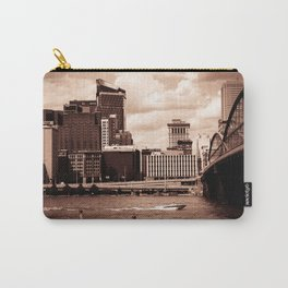 Pittsburgh Sepia Carry-All Pouch