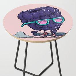The Blackberry Skater Side Table