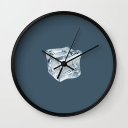 Stay Cool - dark Wall Clock