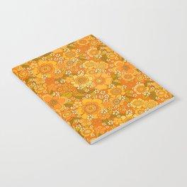 Flower power orange Notebook