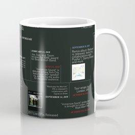 relaxer era infographic Coffee Mug