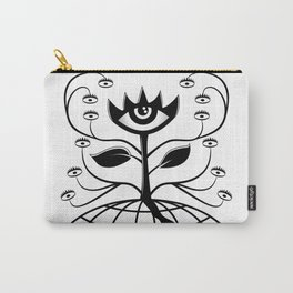 Eye Flower Carry-All Pouch