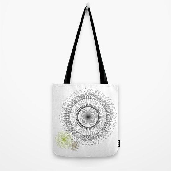 Modern Spiro Art #2 Tote Bag