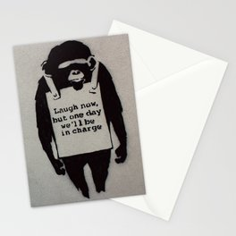 Banksy  Stationery Cards