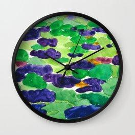 Jacaranda Season Wall Clock