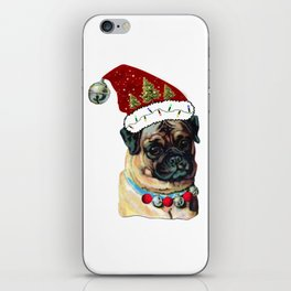 My Pugly Christmas Sweater iPhone Skin
