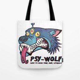 PsyWolf Tote Bag