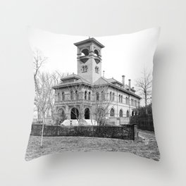 St. Ursula Hall, Ursuline Convent, New Orleans 1900 Throw Pillow