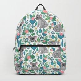 Floral Koala Backpack