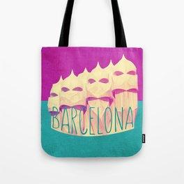 Barcelona Gaudi Paradise Tote Bag