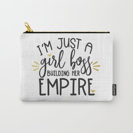 I'm Just A Girl Boss Carry-All Pouch