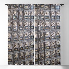 When Mail had Meaning Blackout Curtain