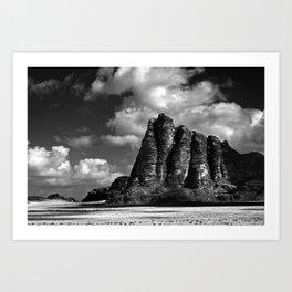 Seven Pillars Art Print