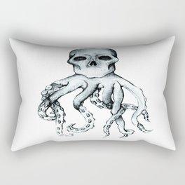 Skull Headed Octopus Rectangular Pillow
