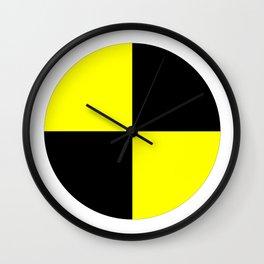 crash test dummies symbol  Wall Clock