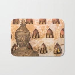 Wat Si Saket Buddhas VI, Vientiane, Laos Bath Mat