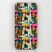 valentines iPhone & iPod Skins featuring alternative Valentines by kociara