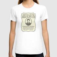 sherlock holmes T-shirts featuring Sherlock Holmes by SuperEdu