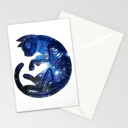Star Cat Stationery Cards