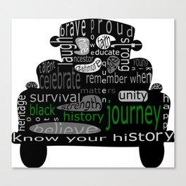 Black History Journey Canvas Print