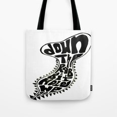Down The Rabbit Hole We Go Tote Bag