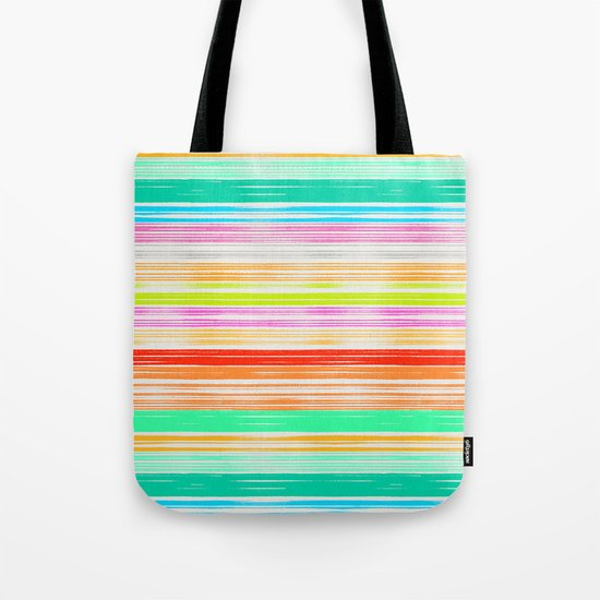 Waves_Multicolor2 Tote Bag