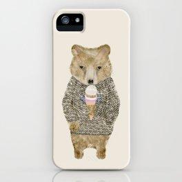 sundae bear iPhone Case