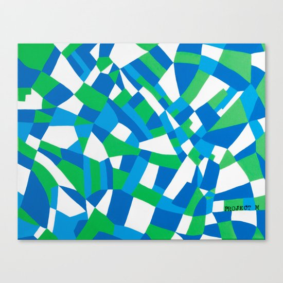 London Green Canvas Print