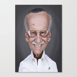Stan Lee Canvas Print
