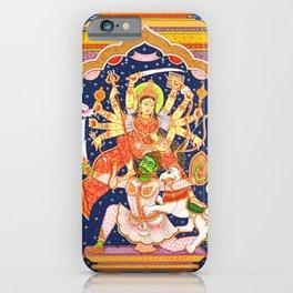 Hindu Durga 6 iPhone Case