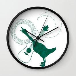 Goose & Guitar Wall Clock