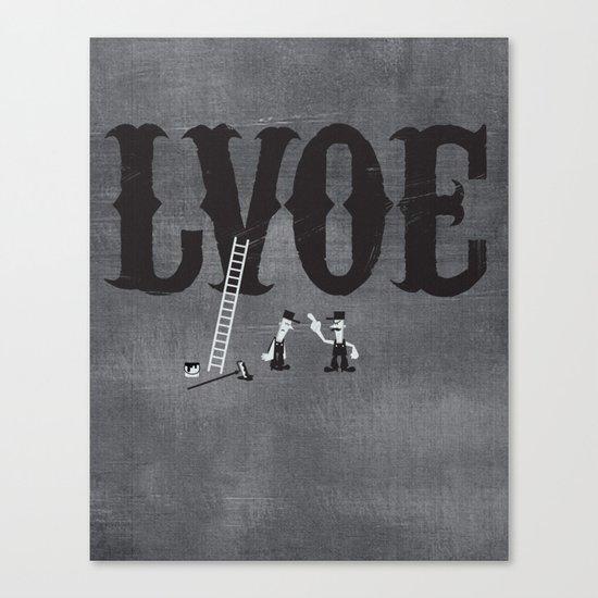 LVOE Canvas Print