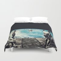 lsd Duvet Covers featuring LSD SPACE  by Maioriz Home