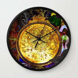 Astrolabe Our Place in the Universe Wall Clock