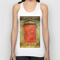 doors Tank Tops featuring Red Doors by davehare